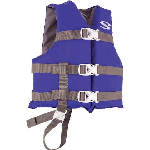 Stearns classic series child life jacket blue 30-50 lbs