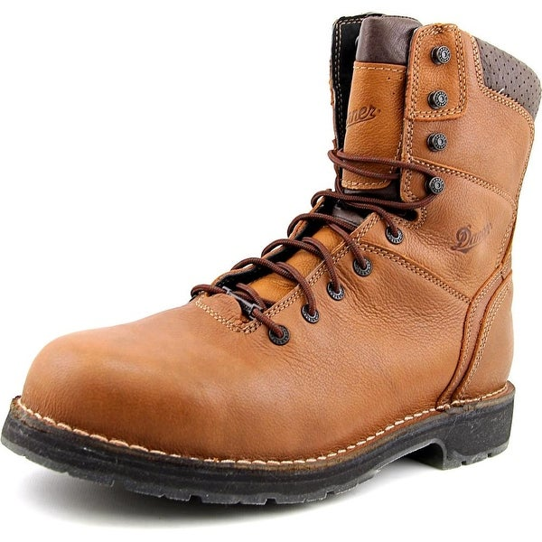 "Danner Workman GTX 8"" Men 2E Steel Toe Leather Brown Work Boot"