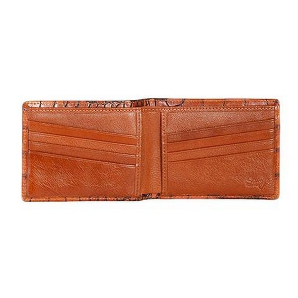 Scully Western Wallet Mens Leather Slim Billfold Credit Card - One size