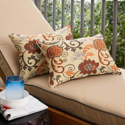 Sunbrella Elegance Marble Corded Indoor/ Outdoor Pillows (Set of 2)