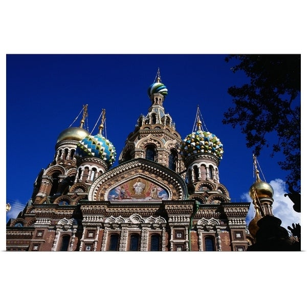 """Church of Our Saviour of Spilled Blood"" Poster Print"