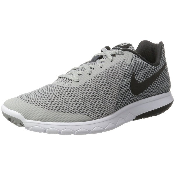 d8388054a4a09 Shop NIKE MENS NIKE FLEX EXPERIENCE RN 6 GREY BLACK ANTHRACITE WHITE ...