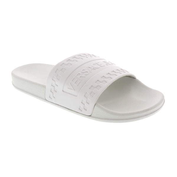 d3bc64af0 Shop Versace White Slide - Free Shipping Today - Overstock - 28058516