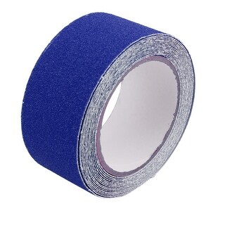 Blue Anti-Slip Grip Tape Roll Safety High Traction Indoor Outdoor 50mmx5m