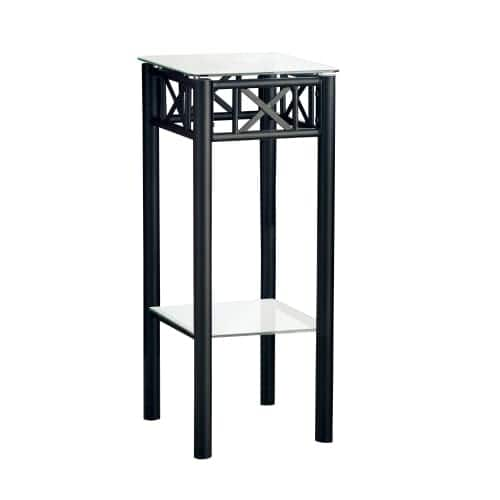 Monarch Specialties Side Table Ii 24 Inch Tall Square
