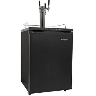 EdgeStar KC3000TRIP 24 Inch Wide Triple Tap Kegerator with Digital Display for F