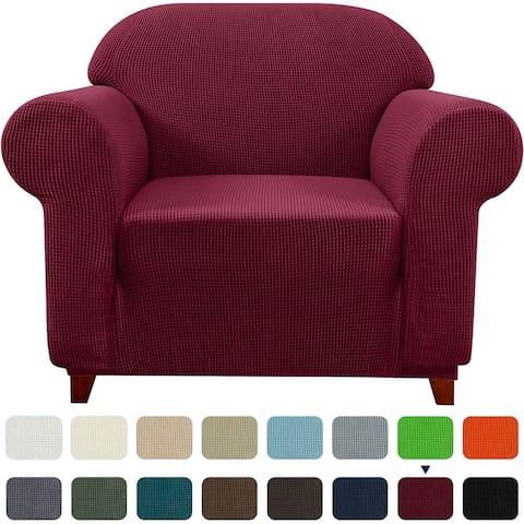 Subrtex Stretch Armchair Slipcover 1 Piece Spandex Furniture Protector