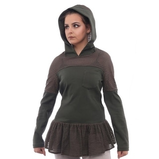 Thakoon Hooded Top Women Regular Sweater
