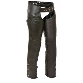 Womens Classic Leather Hip Pocket Chaps|https://ak1.ostkcdn.com/images/products/is/images/direct/c9d6ad7d4869c72cf76a77497f59f0cf0a3755ee/Womens-Classic-Leather-Hip-Pocket-Chaps.jpg?impolicy=medium