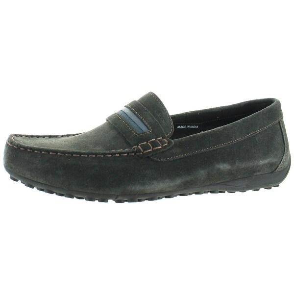 Geox Snake Men's Suede Moccasins Shoes