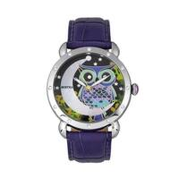 Bertha Ashley Women's Quartz Watch, Genuine Leather Band, Luminous Hands