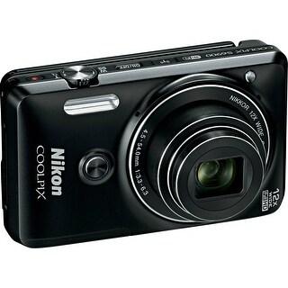 Nikon COOLPIX S6900 Digital Camera (Black) (International Model)