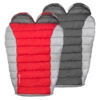 Winterial Double Mummy Bag- Grey