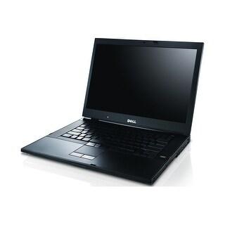"""Dell Latitude E6500 15.4"""" Standard Refurb Laptop - Intel Core 2 Duo P8400 2.26 GHz 4GB SODIMM DDR2 250GB DVD-Combo Win 10 Home"""