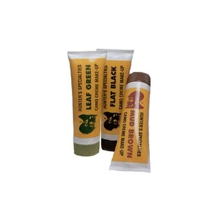 Hunters specialties 00268 hs face paint creme tube kit woodland-browngreenblack