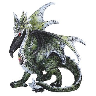 Shop For Q Max 5 5 H Green Dragon Statue Fantasy Decoration Figurine Get Free Delivery On Everything At Overstock Your Online Home Decor Outlet Store Get 5 In Rewards With Club O 32409424