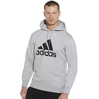 Adidas Mens LOGO HOOD B, MGREYH,BLACK