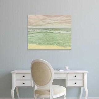 Easy Art Prints Keri Bevan's 'Beach Tricolor' Premium Canvas Art