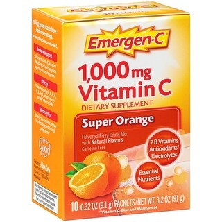 ALACER - Emer'gen-C Super Orange 10 CT