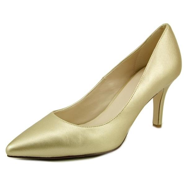 Cole Haan Maud Women Soft Gold Pumps