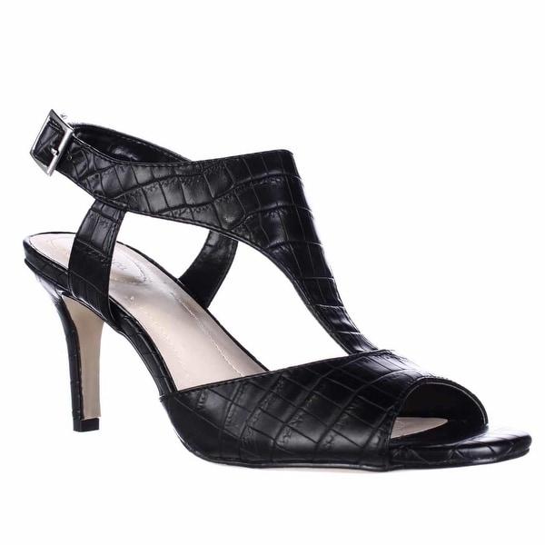SC35 Saharii T-Strap Dress Sandals - Black