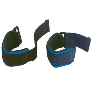 Body-Solid Nylon Wrist Straps (Pair) - Black