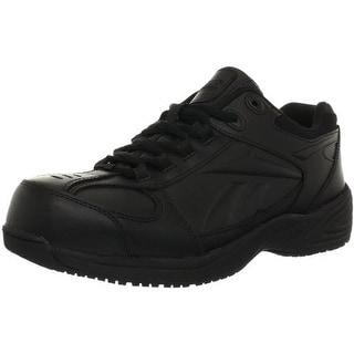 Reebok Mens JORIE Leather Composite Toe Work Shoes
