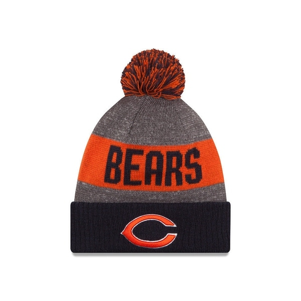 New Era NFL Sideline 2018 Bobble Mütze Chicago Bears