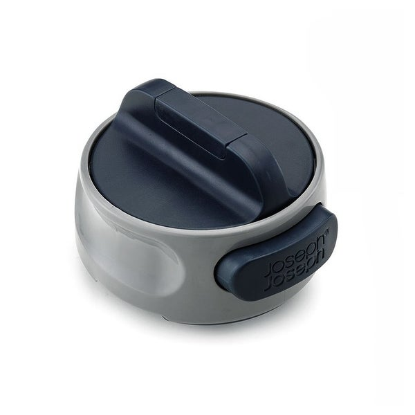 Joseph Joseph Can-Do Compact Can Opener, Easy Twist Release Portable, Space-Saving, Manual, Stainless Steel, Gray
