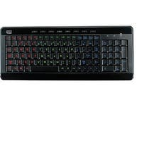 Adesso Slimtouch 120 3-Color Illuminated Compact Multimedia Keyboard (Akb-120Eb)
