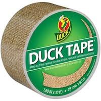 "Patterned Duck Tape 1.88""X10yd-Burlap"