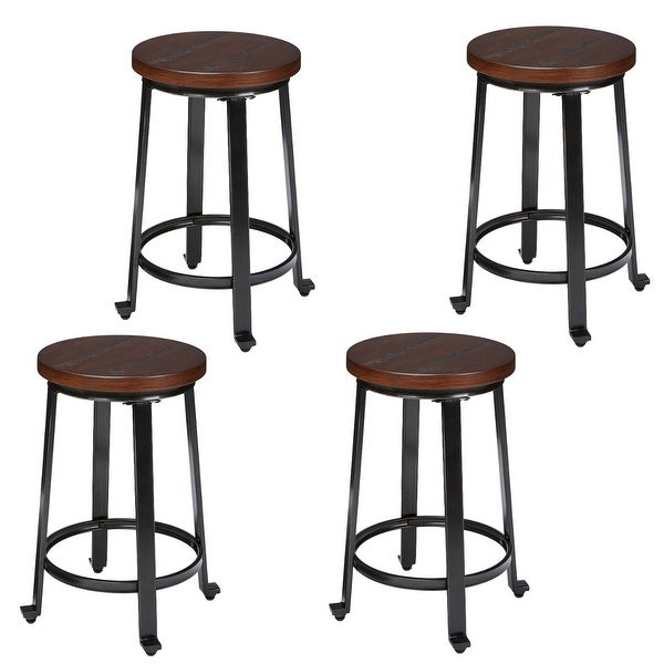 Counter Height Set 2 Ashley Furniture Signature Design Challiman Bar Stool