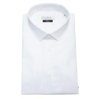 Versace Men Trend Cotton Dress Shirt White