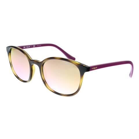 Vogue VO5051S W6565R Dark Havana Round Sunglasses - 52-20-140