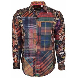 NEW Robert Graham Classic Fit ODD MAN OUT Limited Edition Sport Shirt XL