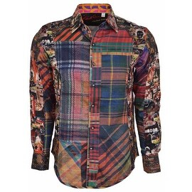 Robert Graham Classic Fit ODD MAN OUT Limited Edition Sport Shirt XL
