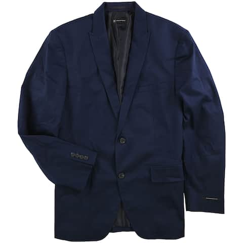 I-N-C Mens Collins Two Button Blazer Jacket