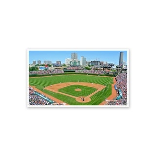 Chicago Cubs - Wrigley Field MLB (Revised Set) Matte Poster 24x14