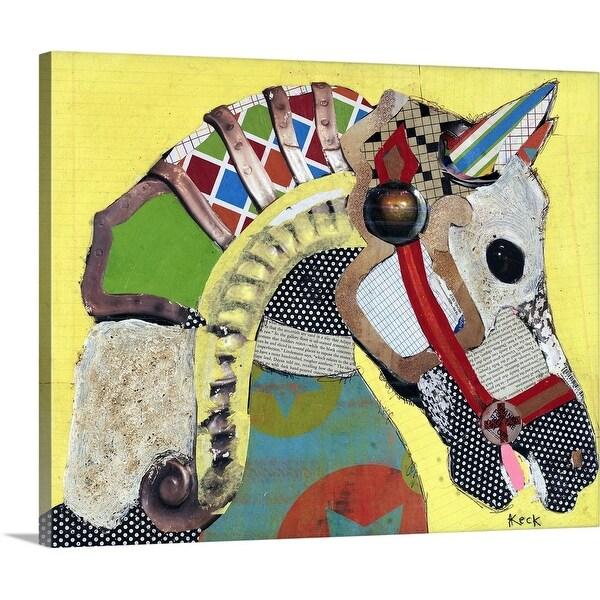 """Horse 1"" Canvas Wall Art"