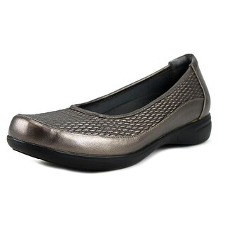 FootSmart Karen Women WW Round Toe Leather Loafer