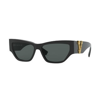 Link to Versase VE4383F GB1/87 56 Black Woman Cat Eye Sunglasses Similar Items in Women's Sunglasses