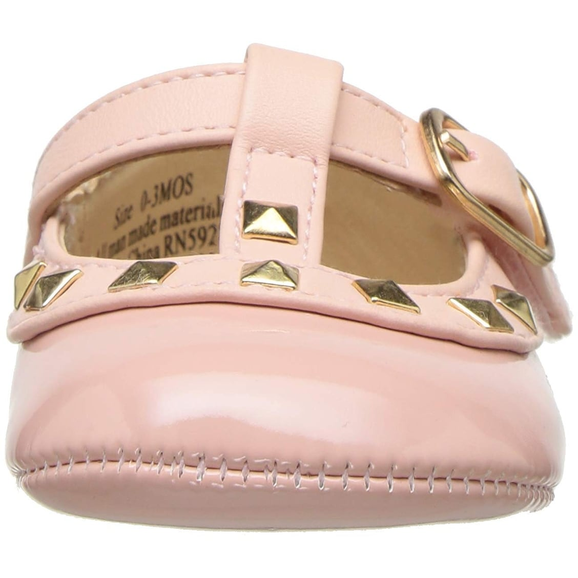 The Childrens Place Kids Strap Ballet Flat