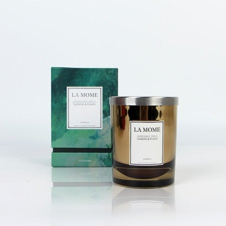 La Mome Luxury Jasmine and Ylang Soy Wax Scented Candle