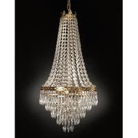 French Empire Crystal Chandelier Lighting Empress Crystal H30 x W17