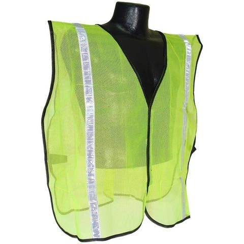 """Radians SVG1 Non Rated Safety Vest With 1"""" Tape, 2X/5X"""