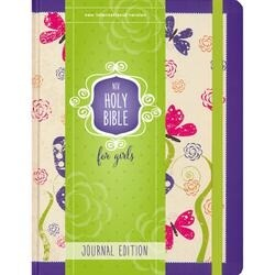 Purple - Niv Holy Bible For Girl - Journal Edition