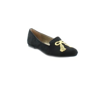 Adrienne Vittadini Doloris Women's Flats & Oxfords Black-Gold