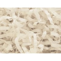 Pack Of 1, Solid Pack Of 1, Solid Oatmeal Tissue Paper Shred 1 Lb To Dress Up Packaging & Baskets