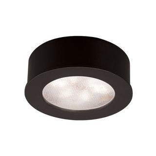 "WAC Lighting HR-LED87 2.25"" Wide 3000K High Output LED Round Under Cabinet Puck Light (Option: Chrome Finish)"