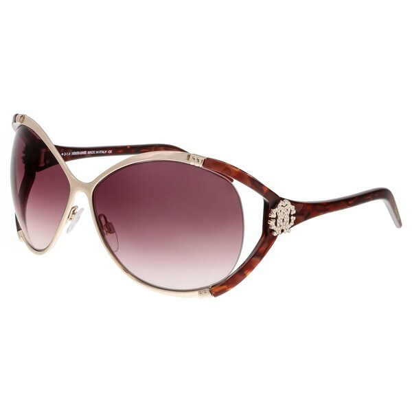 Roberto Cavalli RC855S CELAENO U13 Havana/Gold Wrap Sunglasses